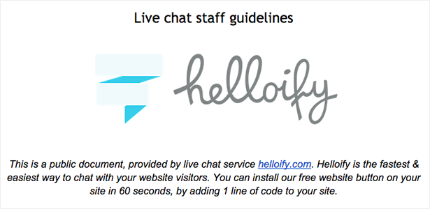 live_chat_guidelines